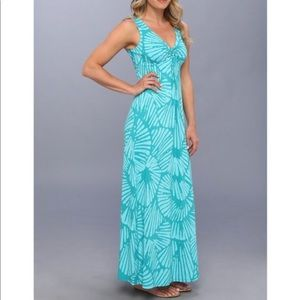 Tommy Bahamas Shells Aswirl Maxi Dress, XXS